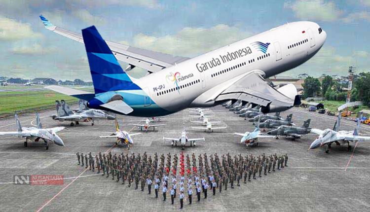 Garuda Indonesia Persiapkan pilot Angkatan Udara Antisipasi Pemogokan